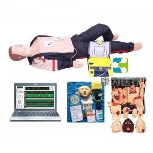 """""""康为医疗""""高级心肺复苏、AED除颤及创伤模拟人(计算机控制、三合一组合)"""