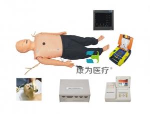 """""""康为医疗"""" 高级多功能成人综合急救训练模拟人(ACLS高级生命支持、嵌入式系统)"""