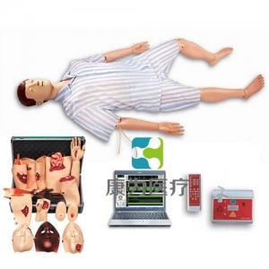 """""""康为医疗""""高级综合急救护理训练模拟人(AED、CPR、护理、创伤四合一)"""