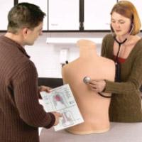 心肺音听诊训练模型,产品编号:LF01142U