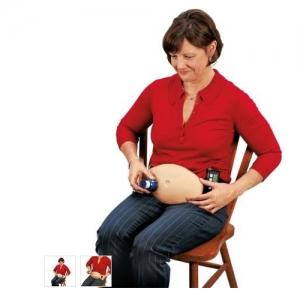 德国3B Scientific®注射腹部模型
