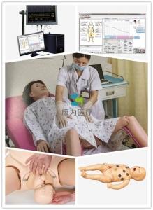 """""""康为医疗""""高智能数字化分娩与母子急救模拟系统"""