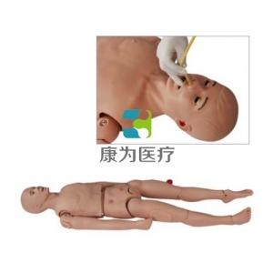 """""""康为医疗""""高级三腔两囊管操作训练模拟人,三腔两囊管止血训练模型,三腔两囊管操作模拟人"""
