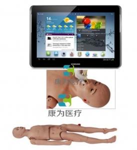 """""""康为医疗"""" 移动无线交互三腔二囊管操作模拟人,IPAD三腔两囊管操作模型"""